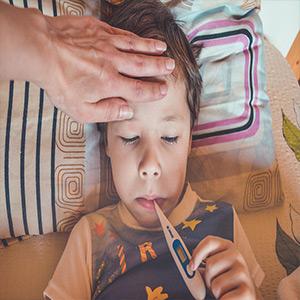 sintomas que acompañan la fiebre